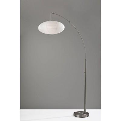Corinne Arc Lamp Silver - Adesso