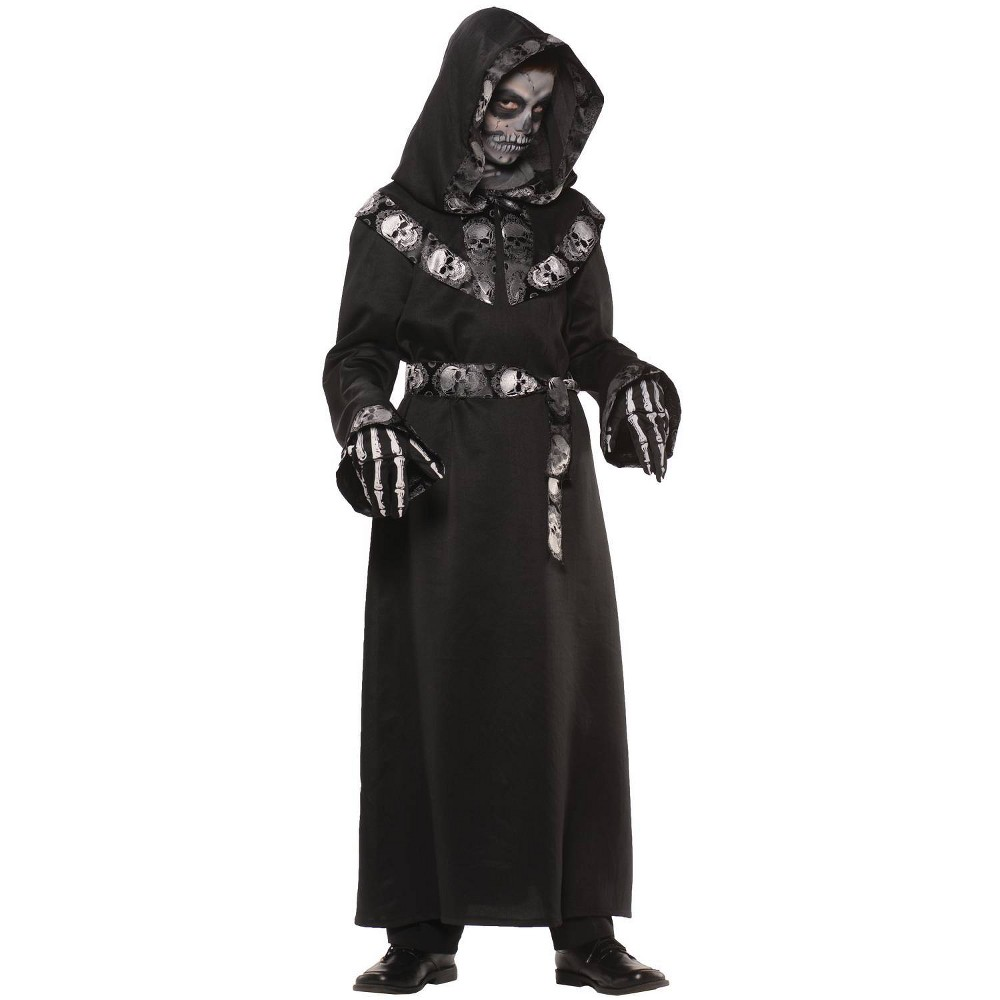 Kids 39 Skull Master Halloween Costume M