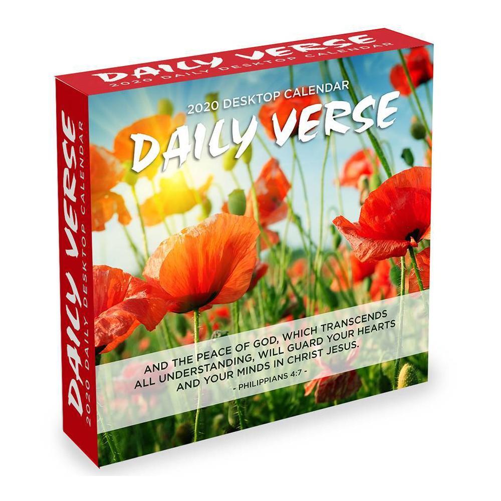 Image of 2020 Daily Desktop Calendar Daily Verse