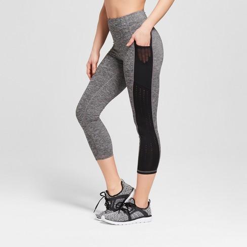 1e896546a50eb4 Women's Training High-Waisted Laser Cut Capri Leggings 22