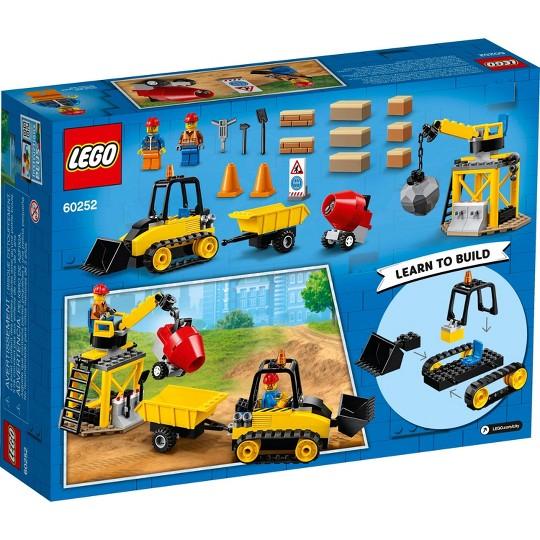 LEGO City Construction Bulldozer 60252 Building Set image number null