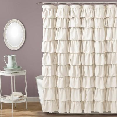 Ruffle Shower Curtain - Lush Décor