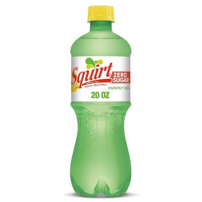 Squirt Zero Sugar Soda - 20 fl oz Bottle