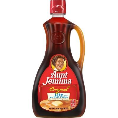 Aunt Jemima Original Lite Syrup - 24 fl oz