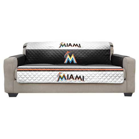 Pleasing Mlb Miami Marlins Sofa Slipcover Download Free Architecture Designs Scobabritishbridgeorg