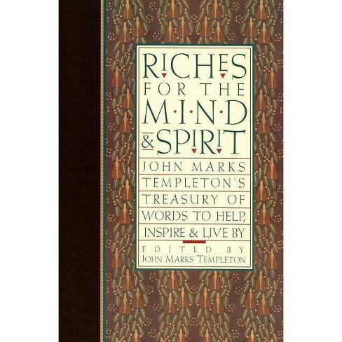 Riches for the Mind and Spirit - (Giniger Book) (Paperback) - image 1 of 1