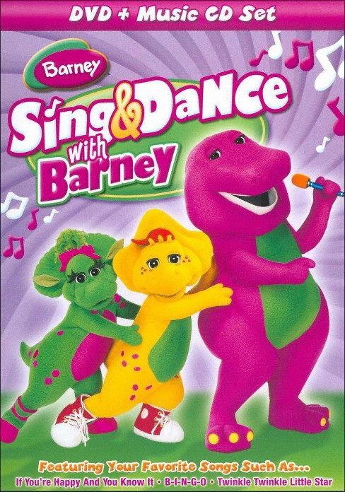 Barney: Sing & Dance with Barney (2 Discs) (DVD/CD) (dvd_video) - image 1 of 1