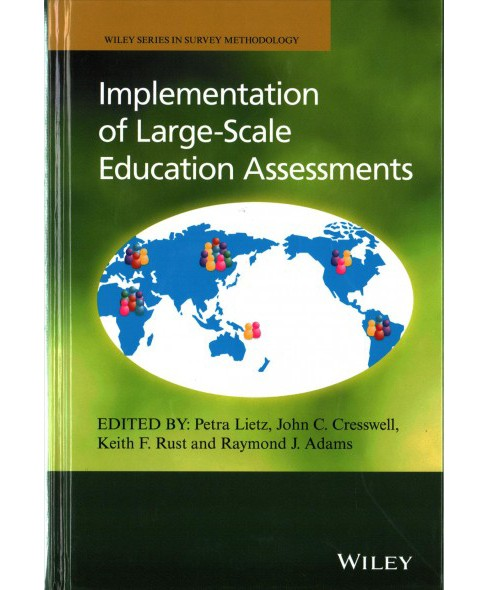Implementation of Large-scale Education Assessments (Hardcover) - image 1 of 1