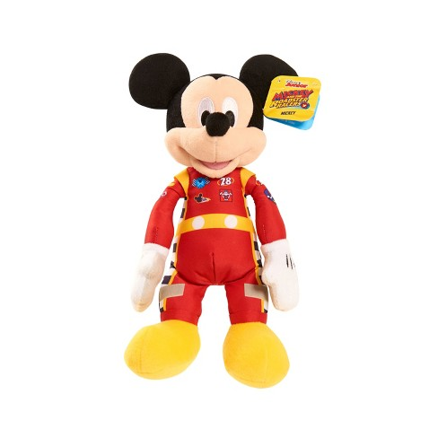 Mickey Mouse Friends Mickey Racing Outfit Bean Bag Plush Target