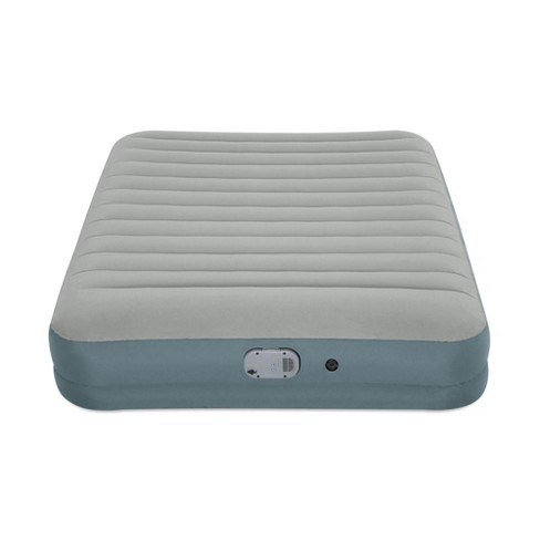 Bestway AlwayzAire Gray 14 Inch Indoor Outdoor Camping Inflatable Air Mattress Bed with Rechargeable USB Electric Built In Pump, Queen - image 1 of 4