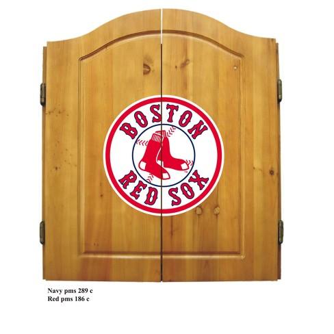 MLB Imperial Bristle Dart Board Cabinet Set - image 1 of 2