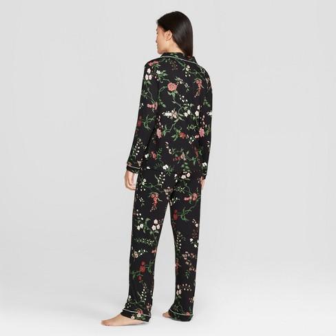 473178e45391 Women s Total Comfort Notch Collar Pajama Set - Gilligan   O Malley™    Target