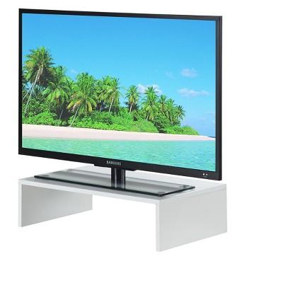 Small TV/Monitor Riser White - Breighton Home : Target