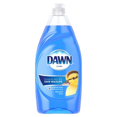 Dawn Ultra Dishwashing Liquid Dish Soap Original Scent - 28oz