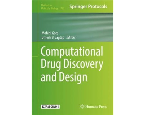 Computational Drug Discovery and Design -  (Hardcover) - image 1 of 1
