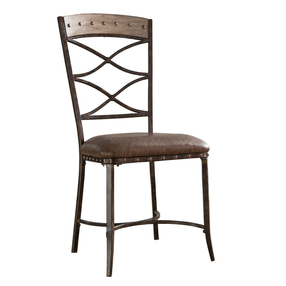 Emmons Dining Chair (Set of 2) - Washed Gray - Hillsdale Furniture, Castle Rock Gray