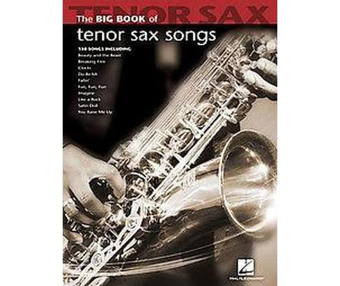 Big Book of Tenor Sax Songs (Paperback) - image 1 of 1