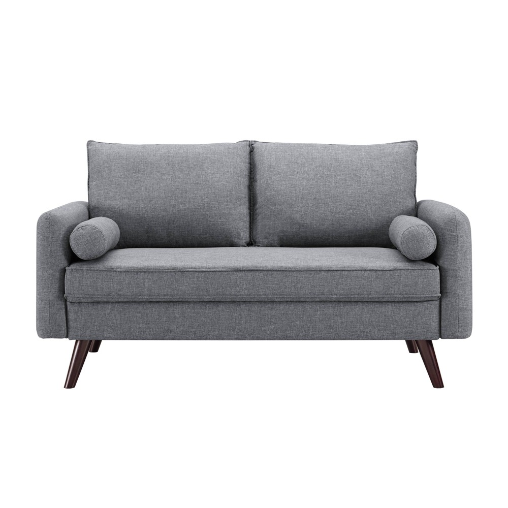 Image of Camila Loveseat Gray - Lifestyle Solutions