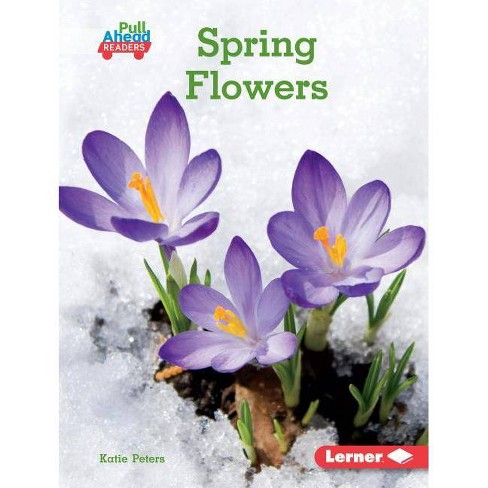 Spring Flowers - (Seasons All Around Me (Pull Ahead Readers -- Nonfiction)) by  Katie Peters (Hardcover) - image 1 of 1