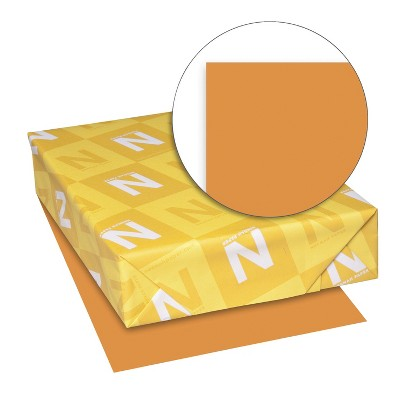 Exact Color Copy Paper, 8-1/2 x 11 Inches, 20 lbs, Bright Orange, 500 Sheets
