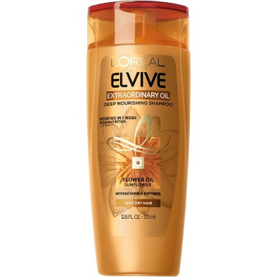 Shampoo & Conditioner: L'Oreal Paris Elvive Extraordinary Oil for Very Dry Hair
