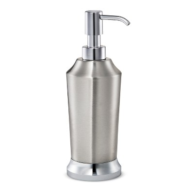 Solid Soap Pump Split Finish Silver - Threshold™