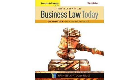 Business Law Today : The Essentials (Paperback) (Roger LeRoy Miller) - image 1 of 1