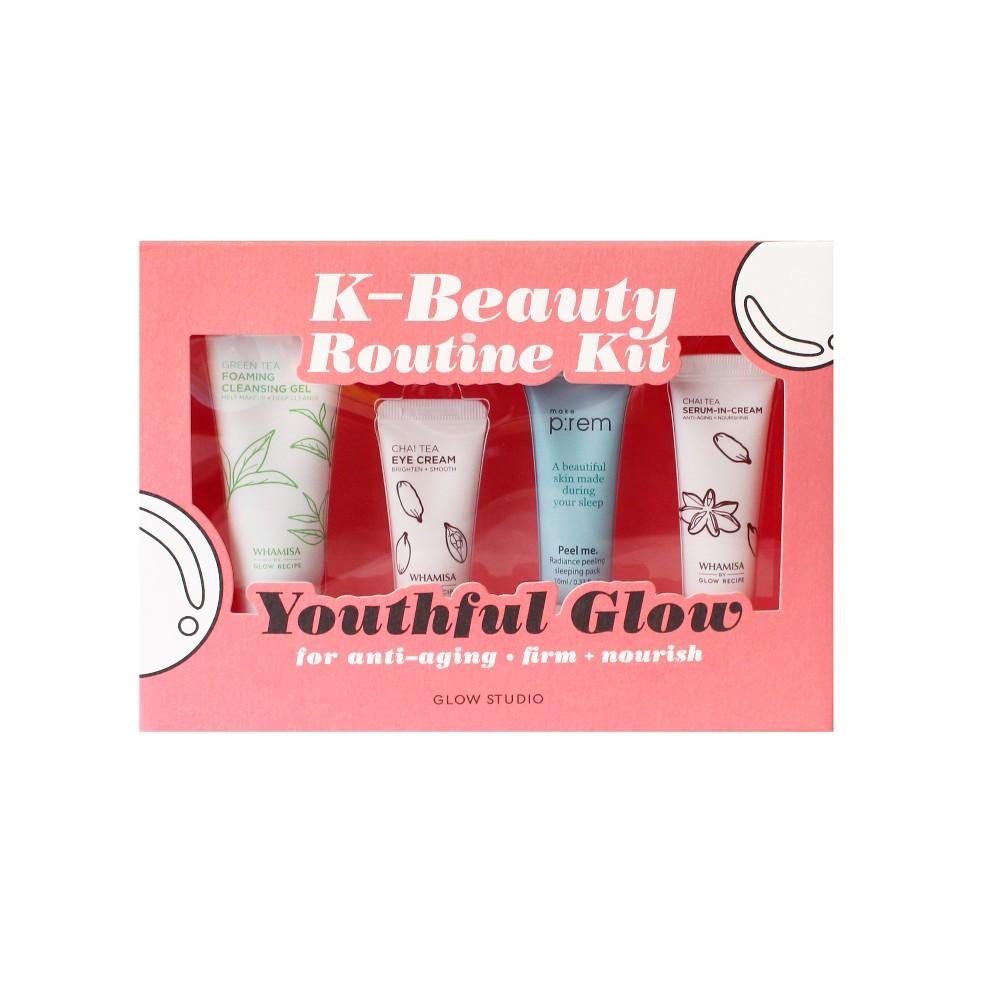 Glow Studio Youthful Glow K-Beauty Routine Kit - 3.8oz