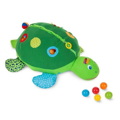 Melissa & Doug Kids Turtle Ball Pit With 60 Balls