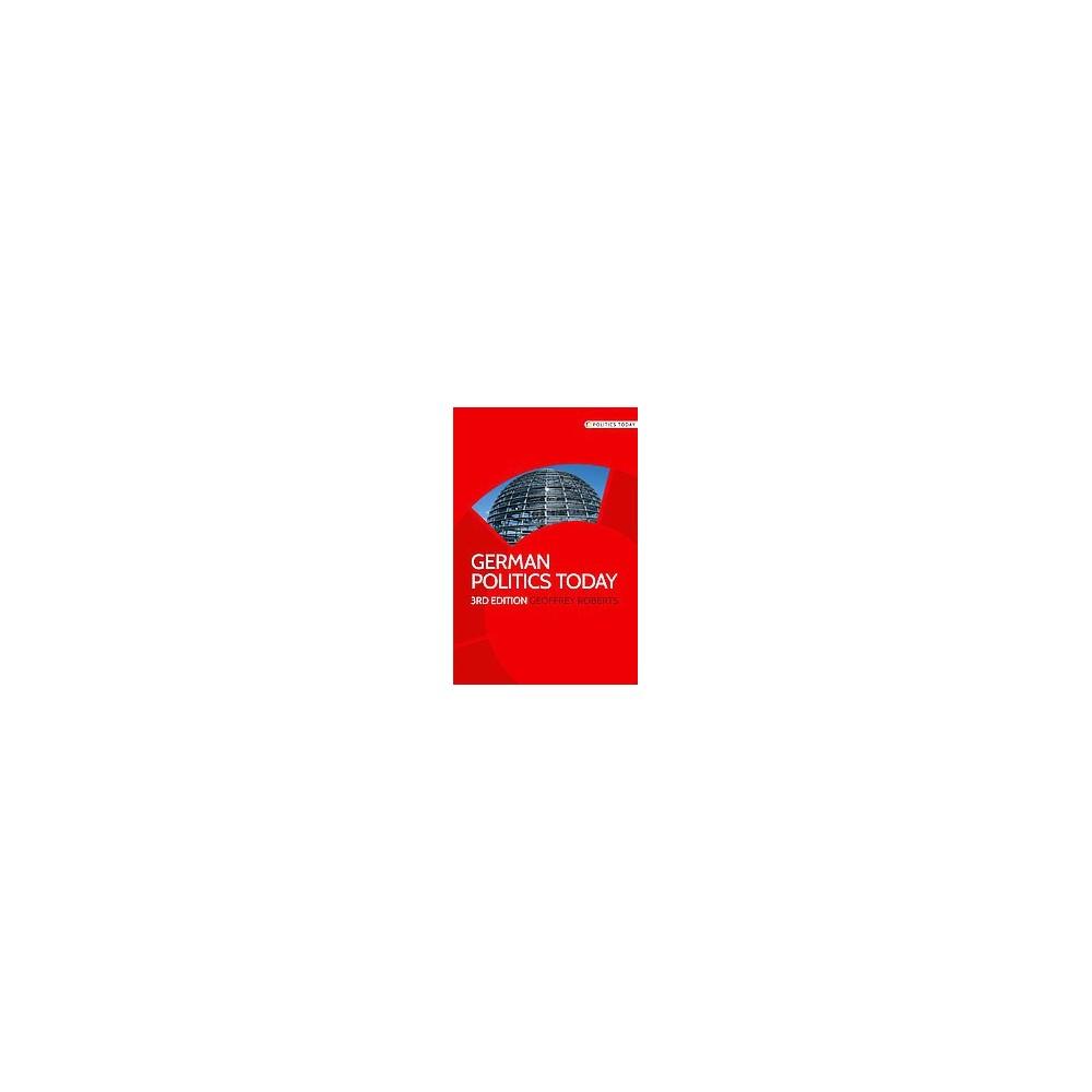 German Politics Today (Paperback) (Geoffrey K. Roberts)