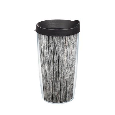 Tervis 16oz Acrylic Tumbler - Gray Wood Grain