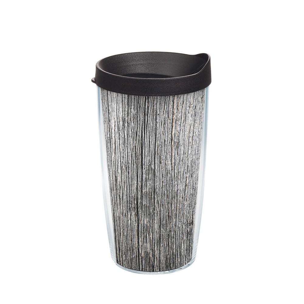 Best Tervis 16oz Acrylic Tumbler - Gray Wood Grain