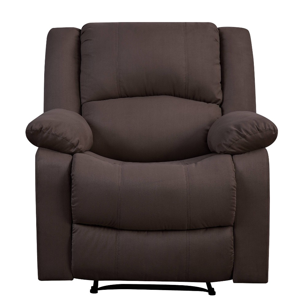Image of Prescott Manual Recliner Chair Brown - Relax A Lounger