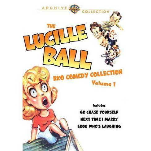 The Lucille Ball Rko Comedy Collection Volume 1 (DVD) - image 1 of 1