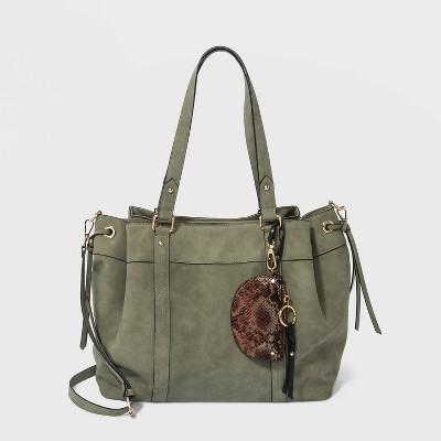 VR NYC Satchel Handbag - Sage Green