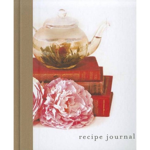 Recipe Journal - Tea - (Hardcover) - image 1 of 1