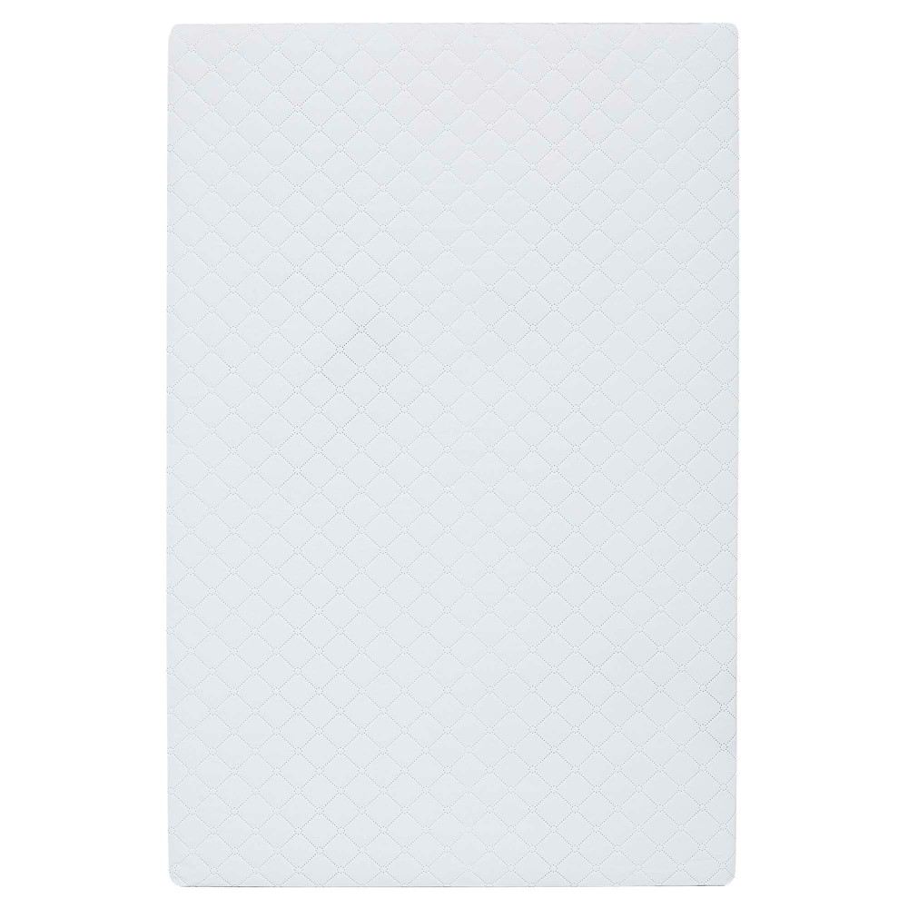 "Image of ""Dream On Me 3"""" Extra Firm Portable Crib Mattress - White"""