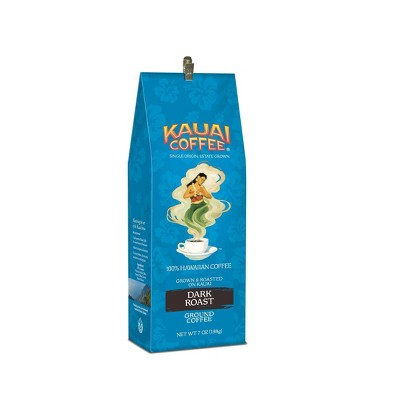 Kauai Coffee Koloa Estate Dark Roast Ground Coffee - 7oz