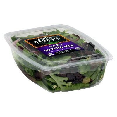 Taylor Farms Organic Baby Spring Mix - 5oz Package