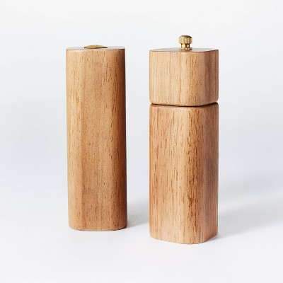 2pc Wood Salt and Pepper Shaker Set - Threshold™ designed with Studio McGee