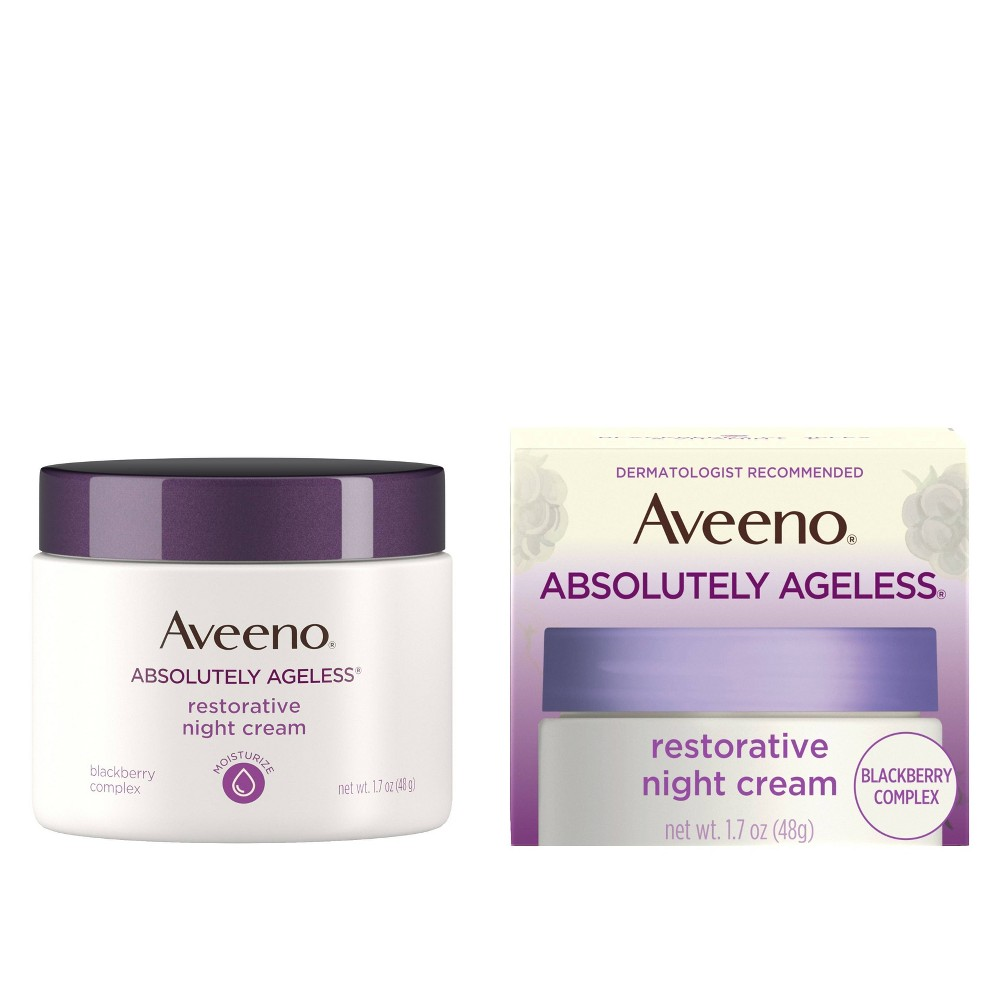 Image of Aveeno Absolutely Ageless Restorative Night Cream - 1.7oz