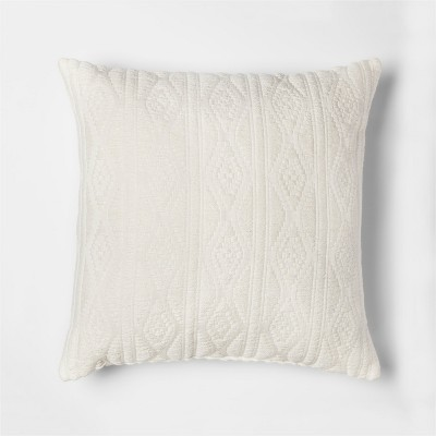 Woven Jacquard Throw Pillow - Threshold™