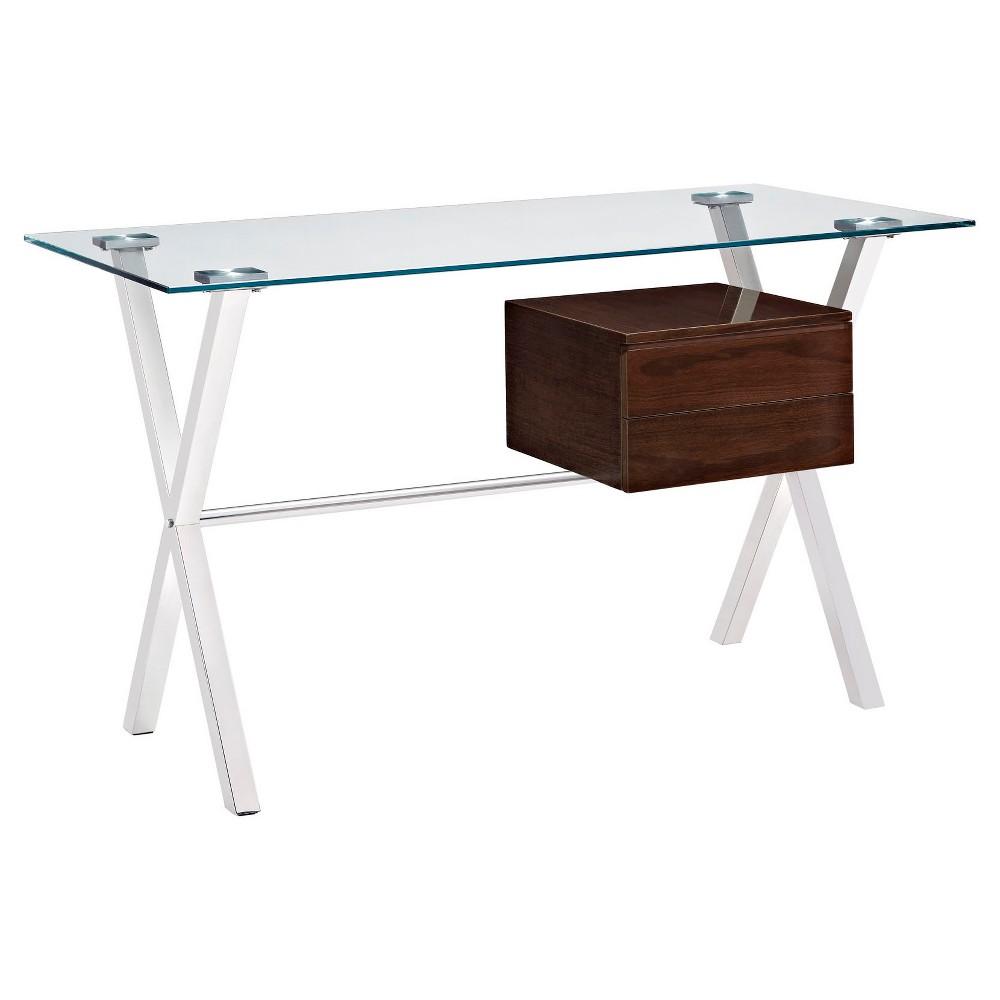 Writing Desk Walnut Grove - Modway