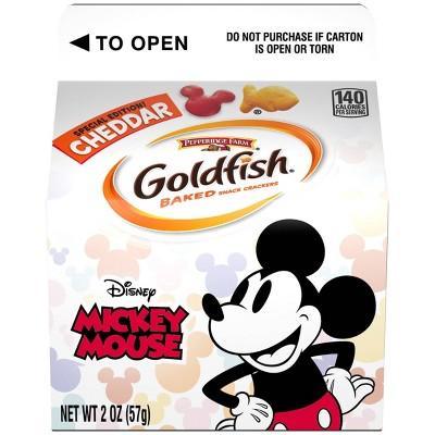Goldfish Mickey Mouse Single Serve - 2oz