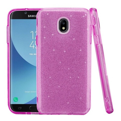 ASMYNA For Samsung Galaxy J7 (2018)/J7 Refine/J7 Star/J7 V 2nd Gen (2018)  Purple Hard Hybrid Case