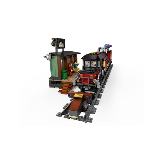 LEGO Hidden Side Ghost Train Express 70424 Augmented Reality (AR) Toy Train Building Kit 697pc image number null