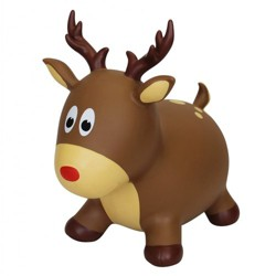 Farm Hoppers Inflatable Bouncing Reindeer