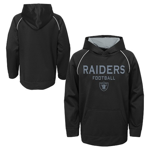 Oakland Raiders Boys  In The Game Poly Embossed Hoodie XL   Target 2b3492922