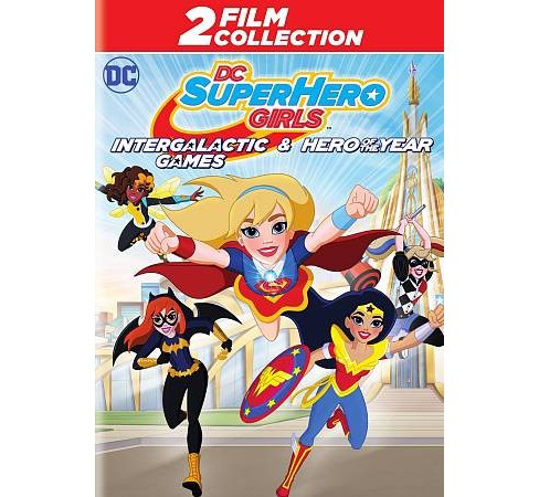 DC Super Hero Girls:Intergalactic Games/ DC Super Hero Girls: Hero of the Year (DVD) - image 1 of 1