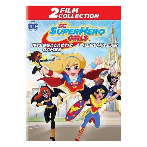 DC Super Hero Girls:Intergalactic Games/ DC Super Hero Girls: Hero of the Year (DVD) - image 1 of 1